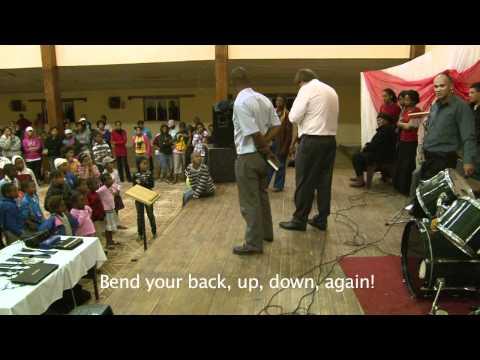 Torn back cushion healed! REVIVAL! ministries South Africa Johann van der Hoven