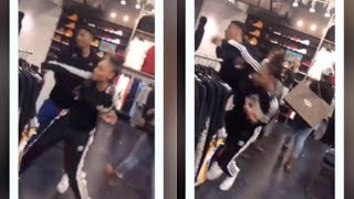 NBA YOUNGBOY AGGRESIVELY PUSHES GIRLFRIEND JANIA!