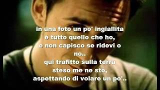 Modà  Il Tappeto di Fragole [Lyrics]