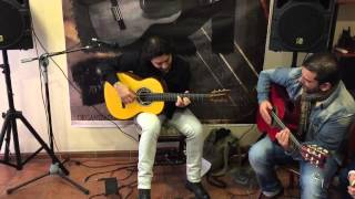 Josemi Carmona con guitarra Andalusian Santos Hernandez 1927 ( VENDIDA )
