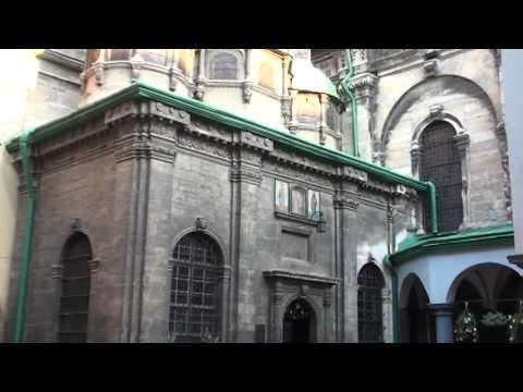 Virgin Mary Assumption Church in Lviv Ukraine