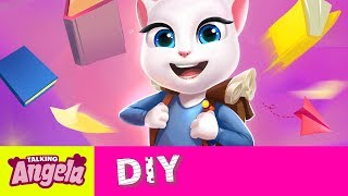 Talking Angela – DIY School Style