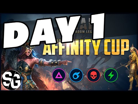 RAID SHADOW LEGENDS | DAY 1 | AFFINITY CUP | LETS SEE WHERE I'M AT