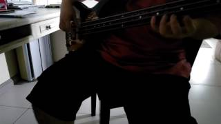 Mega Man Zero 4 - Showdown (Bass cover)
