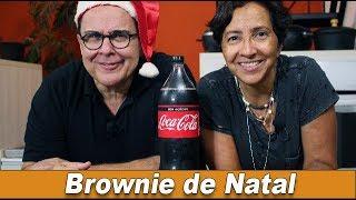 Brownie de Natal - Chef Taico