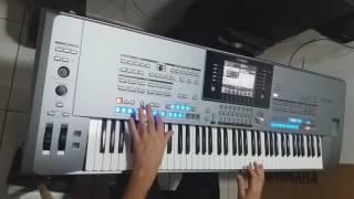E não vou deixar você tão só - instrumental teclado Cover Arirrany( Roberto Carlos)
