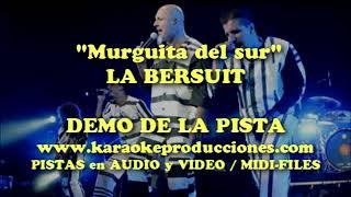 "Bersuit Vergarabat ""Murguita del sur"" DEMO PISTA KARAOKE INSTRUMENTAL"