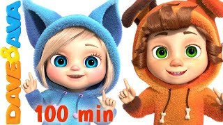 One Little Finger   Cartoon Animation Nursery Rhymes & Songs for Children   Dave and Ava