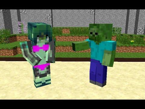 Naked girls in minecraft in college Monster School Minecraft Girls 08 2021