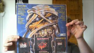 IRON MAIDEN RECORD COLLECTION UPDATE! MANY RARE ITEMS !