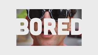 stop being BORED - Casey Neistat Inspirational Typography