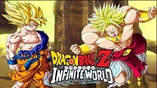 DBZ Infinite World: Goku vs Broly【HD】