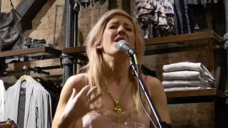 Ellie Goulding - Lights (Acoustic) [AllSaints SoHo, NYC - 3/28/11]
