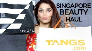 SEPHORA Haul Singapore | Best Makeup Products 2018 | Sephora Makeup Tutorial | Krushhh by Konica width=