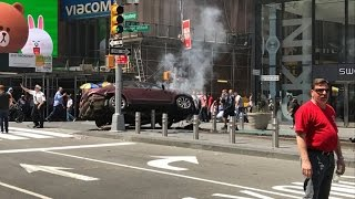 Drunk Driver Ploughs Into Crowd Of People At Times Square