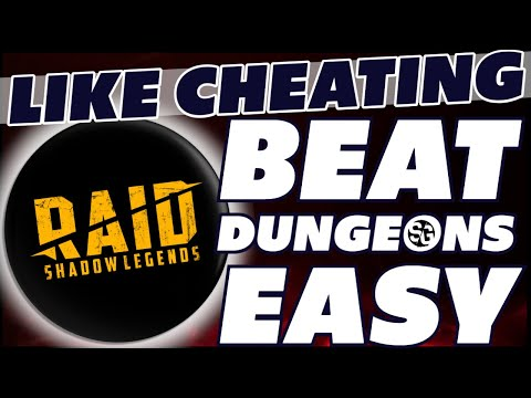 Like cheating! beat dungeons easy. Trick the AI. Raid Shadow Legends Raid hacks