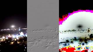NEW EVIDENCE! Jerusalem UFO 28 January 2011 Video Filtered