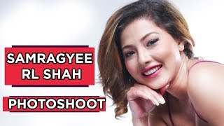 Samragyee R L Shah || Photoshoot || A MERO HAJUR 2