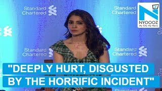 Anushka Sharma REACTS on Asifa's rape case width=