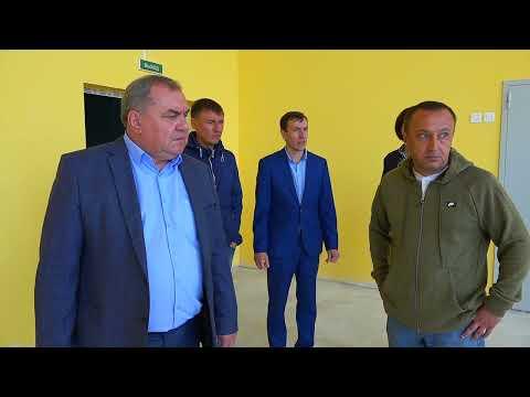 Николай Альшенко посетил строящуюся школу
