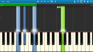 August Alsina - No Love - Piano Tutorial - How to play No Love - Synthesia