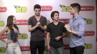 "Lab Rats ""Super Human Tricks"" on Radio Disney's Celebrity Take with Jake"