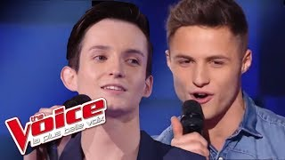 The Voice 2016 | Louis VS Sacha - Je Te Donne (Jean-Jacques Goldman) | Battle