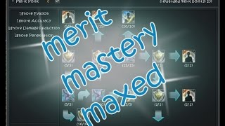 merit matery maxed | Cabal Online