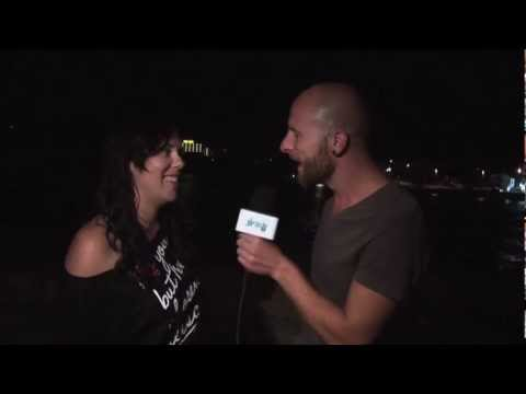 Lucky Life TV interviews DJ Lady Lea at the end of her 2011 Ibiza Tour