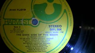 Pink Floyd 1973 The Dark Side of the Moon Album FOR SALE!