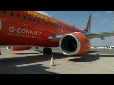 G Connect In-Flight WiFi launch with Mango