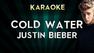 Major Lazer - Cold Water (feat. Justin Bieber & MØ) | LOWER Key Karaoke Instrumental Lyrics Cover
