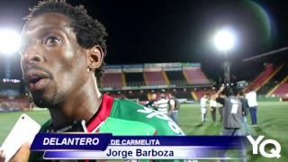 Jorge Barboza detalló porque no pudo concretar la opción que tuvo ante Saprissa