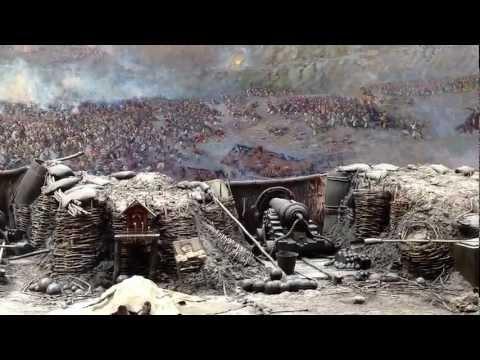 """Panorama """"The Defense of Sevastopol, 1854-1855"""". Crimean War (1853-1856) www.sergoyalta.at.ua"""