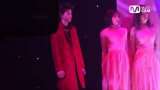 141225 Mnet MULTI CAM Mark GOT7 - Full Moon ft. Sunmi