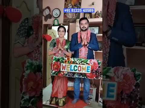 Rotate Bride Groom Welcome Name Board Entry New Concept Wedding +91 81225 40589 India