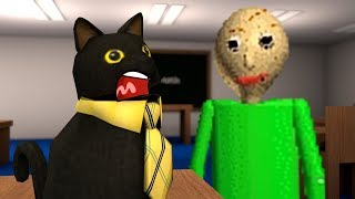 Roblox Animation - SIR MEOWS A LOT IS TRAPPED IN BALDI'S CLASSROOM!
