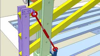 Mechanical automatic gate