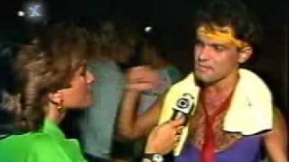 Cazuza   Entrevista   Rock in Rio 1985