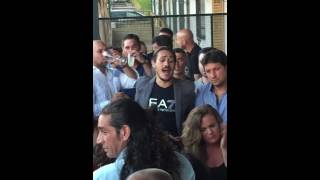 El Canelita cantando en El Rocio