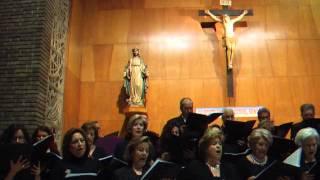 Ave María (J. A. García). Coral Santa Teresa. Concierto Cuaresma. 30 marzo 2012.