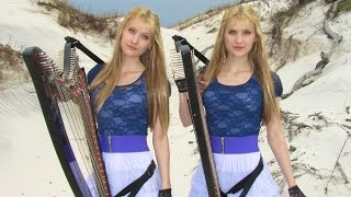 EVERY BREATH YOU TAKE (The Police) Harp Twins - Camille and Kennerly HARP ROCK