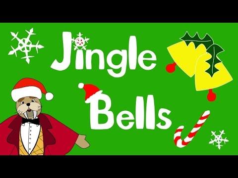 Jingle Bells (with lyrics!) | The Singing Walrus - YouTube