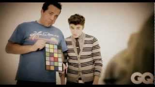 Justin Bieber - GQ Magazine Photoshoot Behind The Scenes
