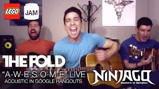 "LEGO NINJAGO ""A-W-E-S-O-M-E!"" Live on Google Hangouts w/ The Fold"