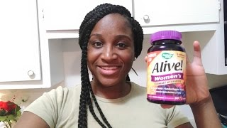 1 month review on ALIVE multivitamin gummies