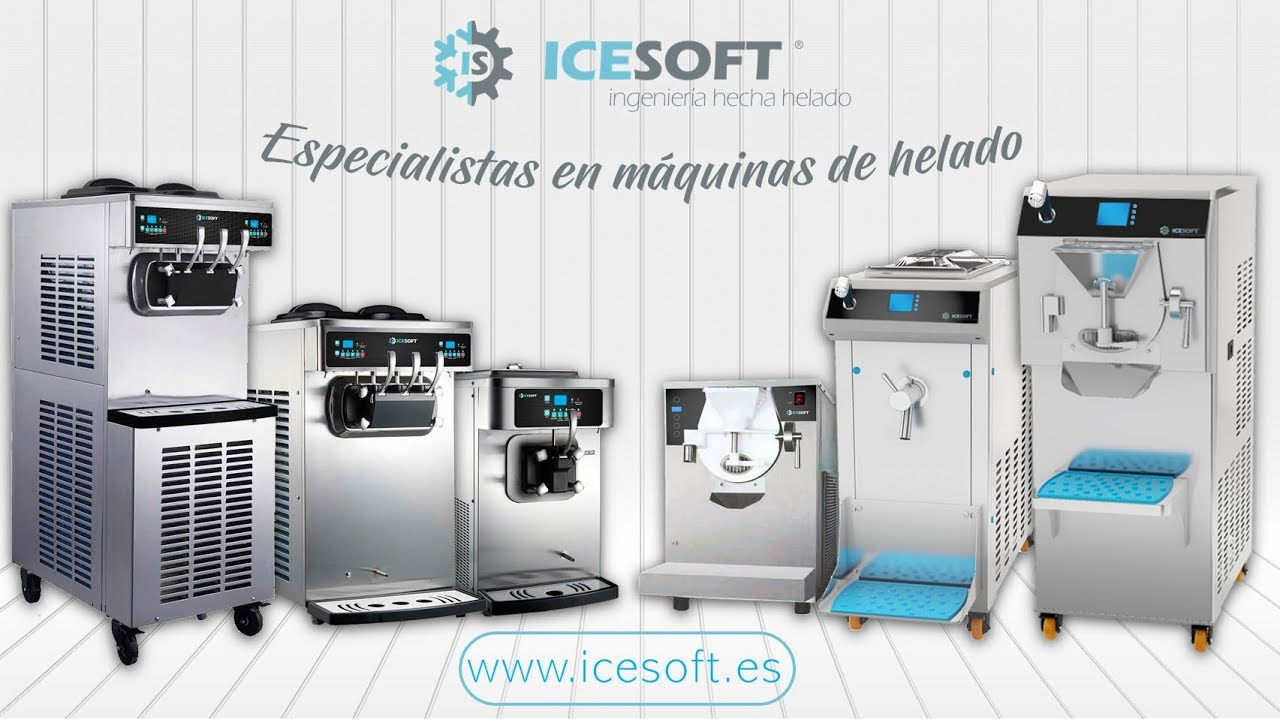 Video Máquinas de Helados Soft de Icesoft Hostelería