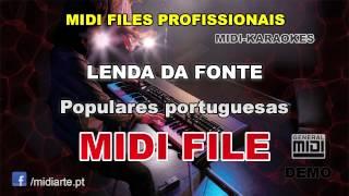 ♬ Midi file  - LENDA DA FONTE  - Populares portuguesas