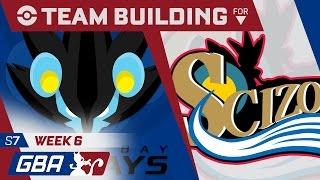 GBA S7W6 [Team Builder] - Tampa Bay Luxrays (5-0) vs Philidelphia Scizors (4-1)