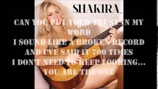 Shakira - Broken Record (Letra)
